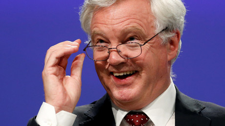 Britain's Secretary of State for Exiting the European Union David Davis  © Francois Lenoir
