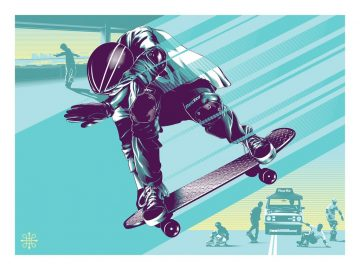 Jeff Boyes - Lost Days - Gleaming the Cube