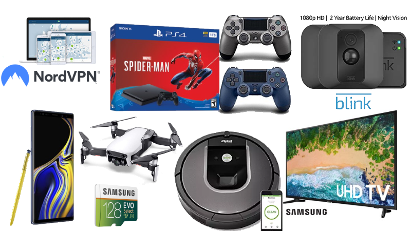 Collage of items for sale in today's Dealmaster.