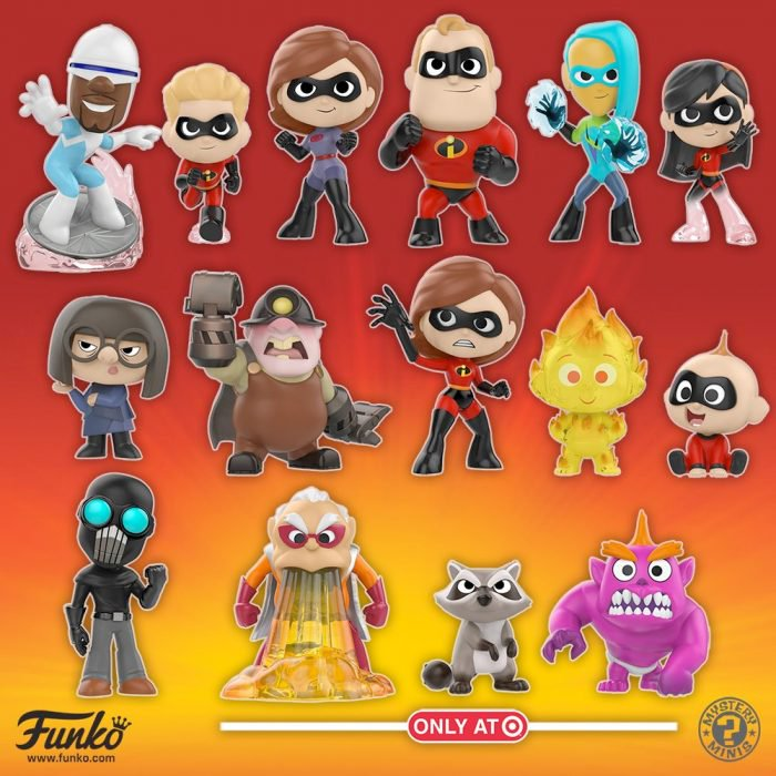 Incredibles 2 Mystery Minis