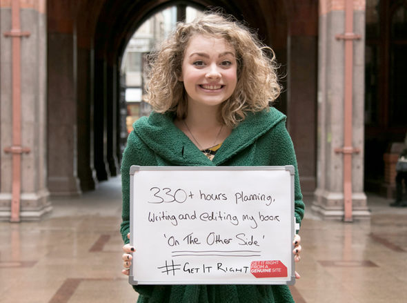 Carrie Fletcher highlights the importance of copyright for the Get It Right campaign