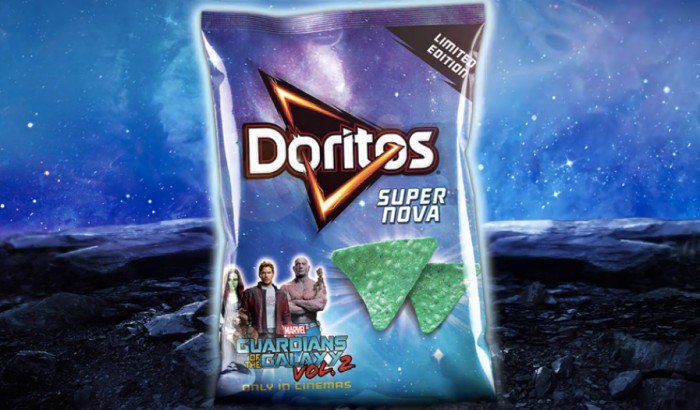 Guardians of the Galaxy 2 Doritos