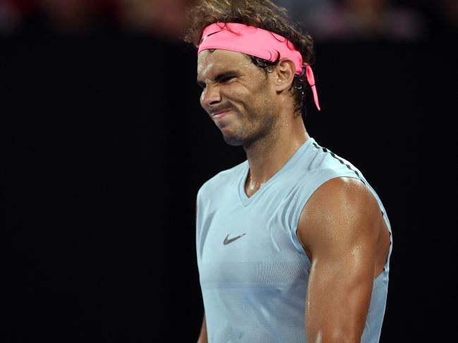 Rafael Nadal dropped his second set of the tournament.