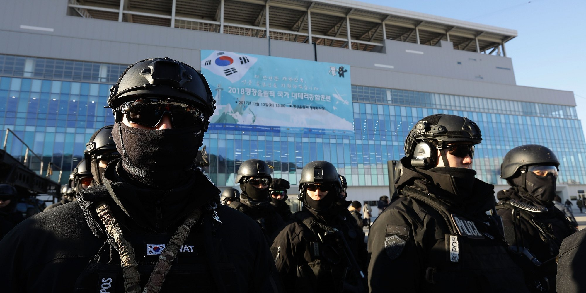 south korea security olympics
