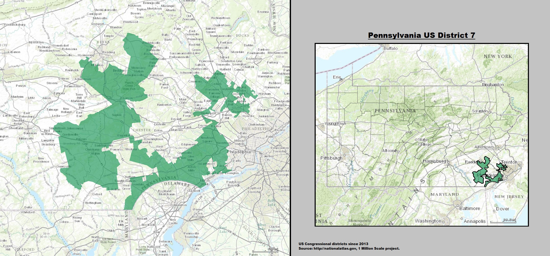 Pennsylvania US Congressional District 7
