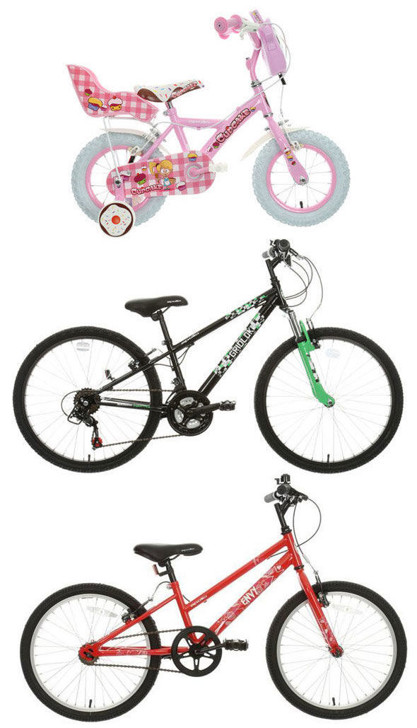 Halfords kids bikes