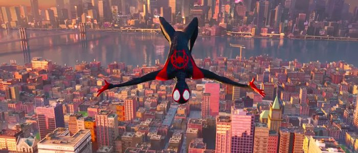 Into the Spider-Verse technique