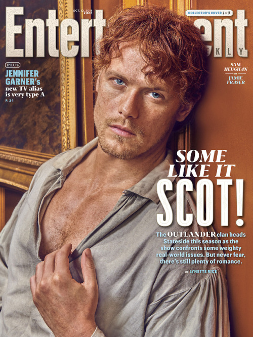 Some like it SCOT!Outlander stars Caitriona Bale and Sam Heughan