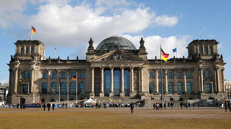 The Reichstag building in Berlin, Germany © Fabrizio Bensch