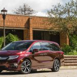 Quiet, comfortable, flexible, and packed with tons of modern technology, the Honda Odyssey has a formidable family-friendly legacy. A 280-hp 3.5-liter V-6 drives the front wheels through a nine-speed automatic; Touring and Elite trims get a 10-speed, an onboard vacuum cleaner, a 4G LTE Wi-Fi hotspot, and a digital rear-seat monitor.