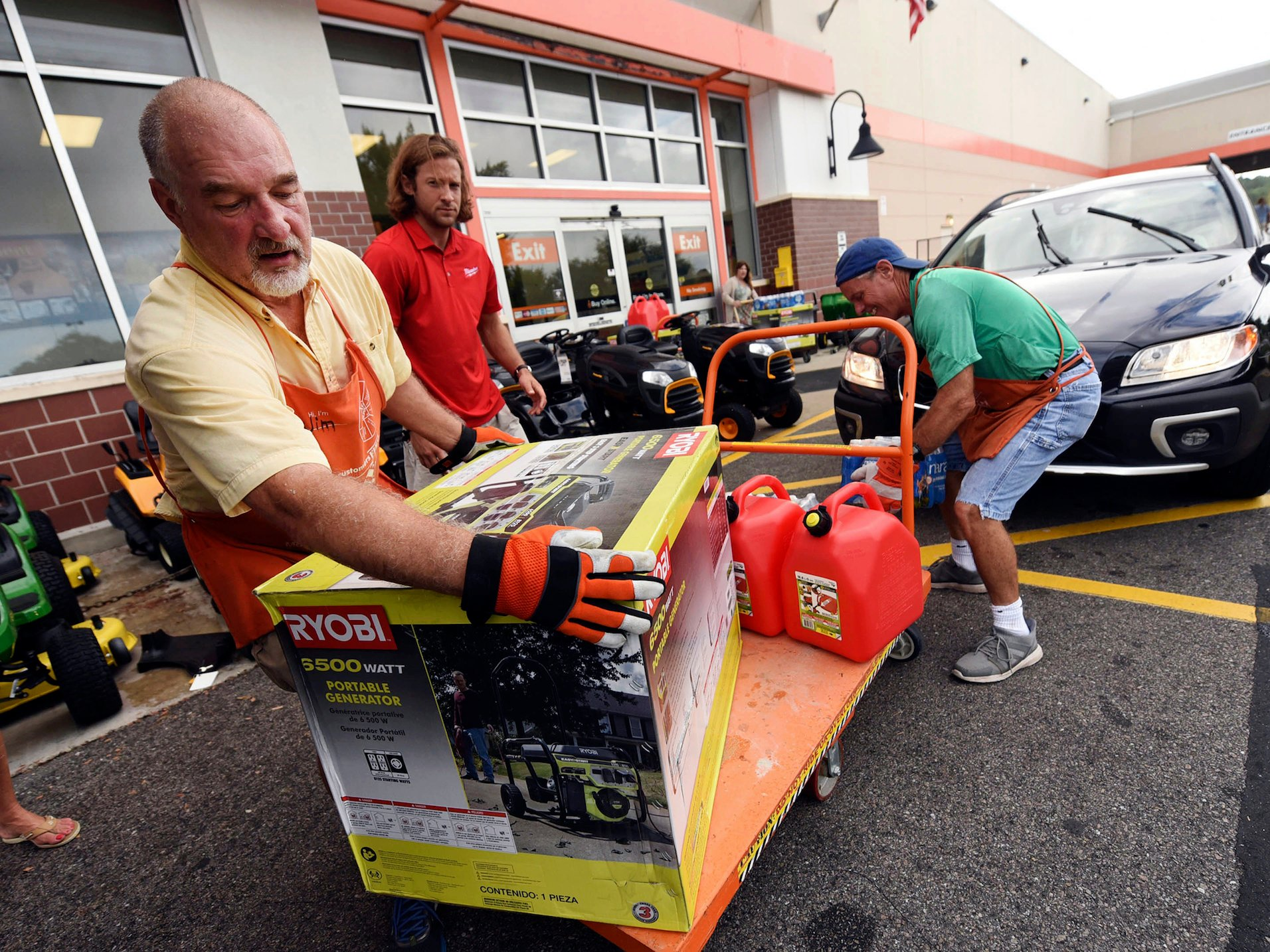 hurricane florence home depot employees