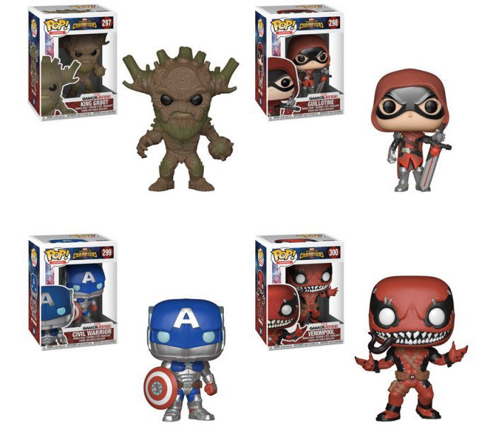 Marvel's Contest of Champions Funko POPs