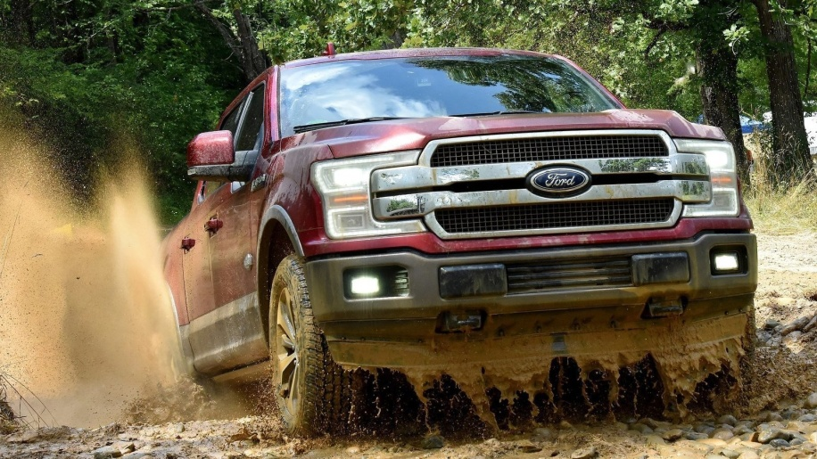 Ford F-150 off road