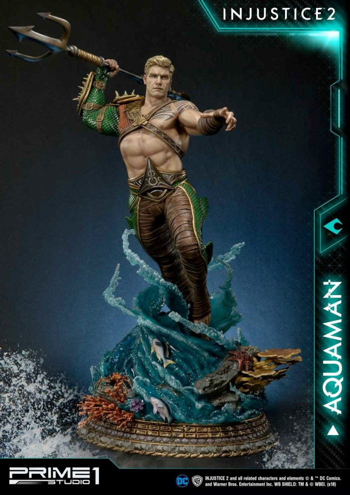Injustice 2 - Aquaman Statue