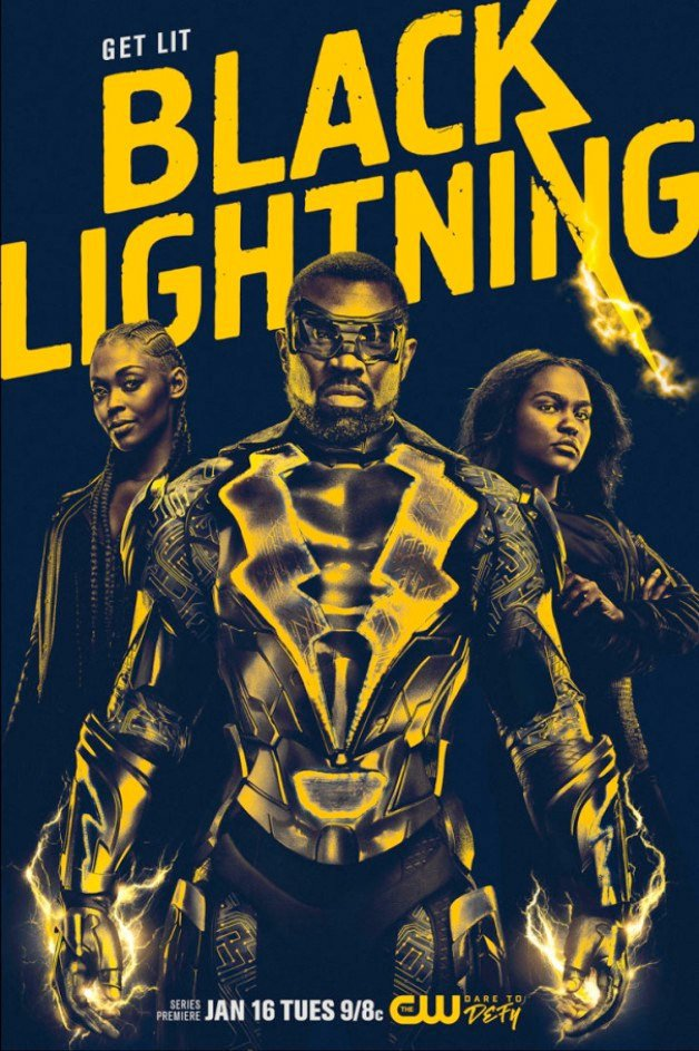Black Lighting Poster