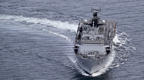 HMS Albion is one of the naval ships rumoured to be being considered for the Conservative Party axe ©RoyalNavy