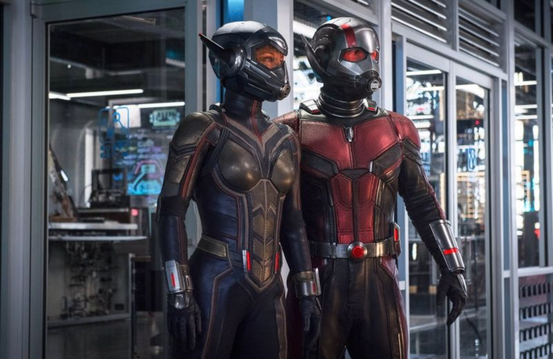 Scott Lang, aka Ant-Man (Paul Rudd), and Hope van Dyne, aka the Wasp (Evangeline Lilly), would need 100 times more oxygen than usual at smaller scales.