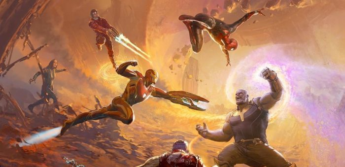 The Art of Avengers: Infinity War Cover Crop