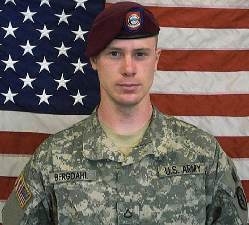 FILE PHOTO: U.S. Army Sergeant Bowe Bergdahl is pictured in this undated handout photo provided by the U.S. Army and received by Reuters on May 31, 2014.   U.S Army/Handout via REUTERS/File Photo