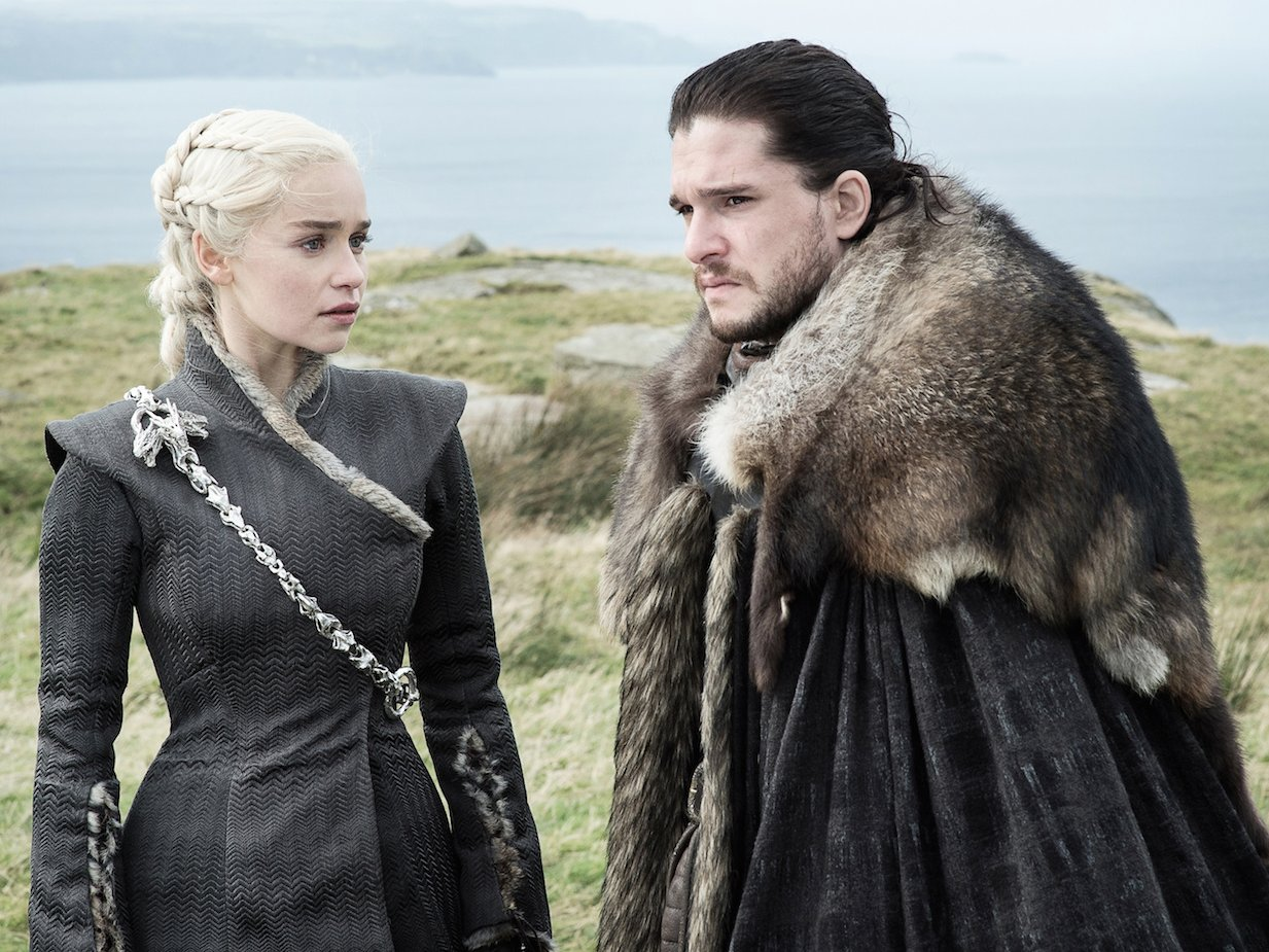 Game of Thrones season seven Daenerys Targaryen Jon Snow Helen Sloan   HBO (Photo 5) (1)