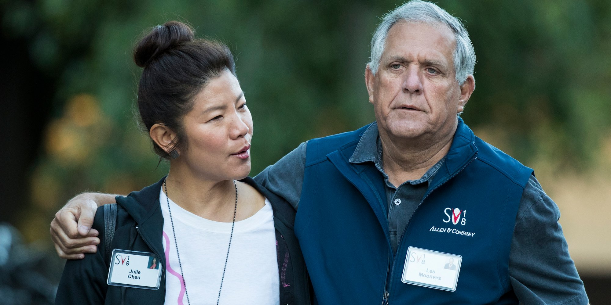 Les Moonves Sun Valley