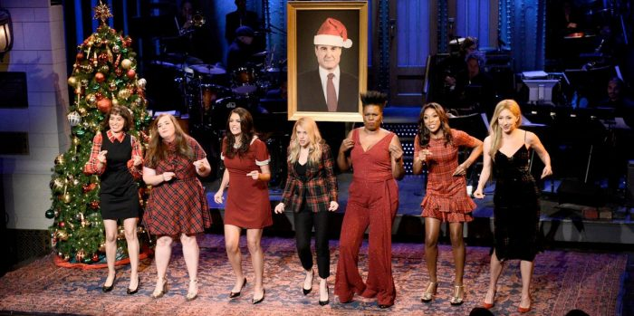 Saturday Night Live - A Holiday Message from the Women at SNL