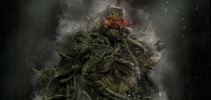 Justice League Dark Concept Art See Swamp Thing