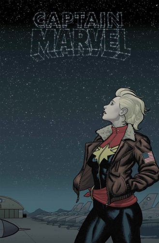 Captain Marvel Comic Cover