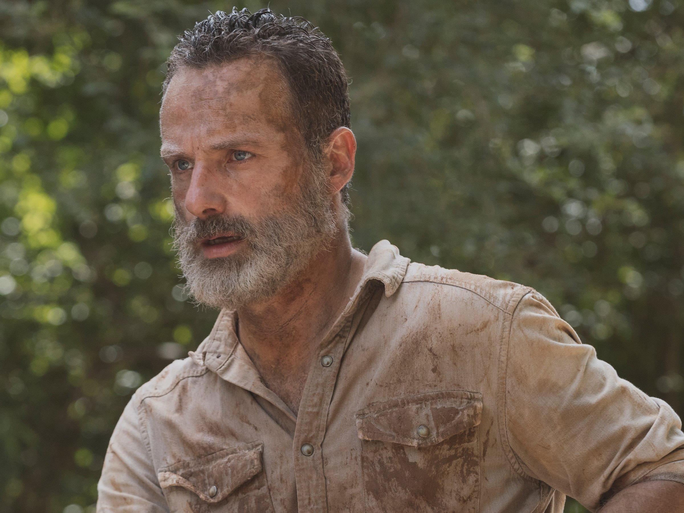 rick the walking dead 905 bleeding