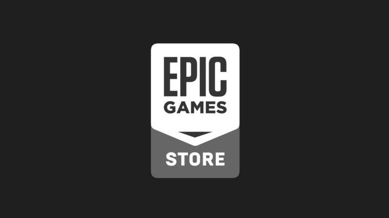 The Epic Games Store logo.