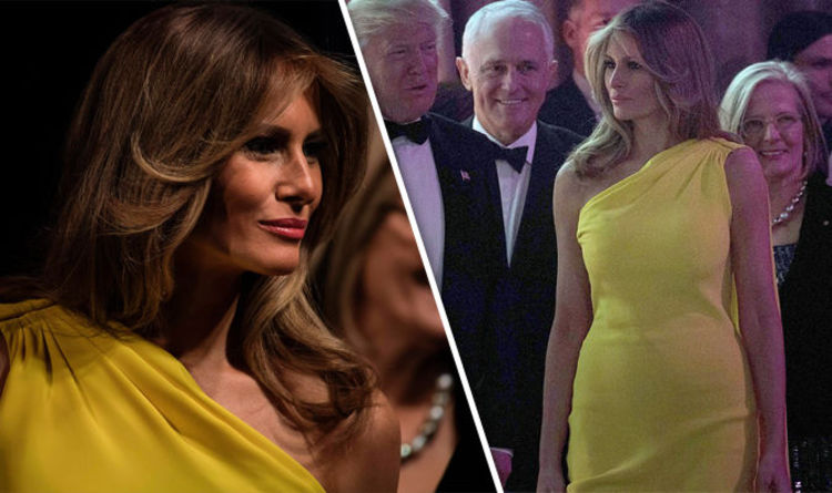 Melania Trump Style First Lady Steals The Show In Yellow Gown At
