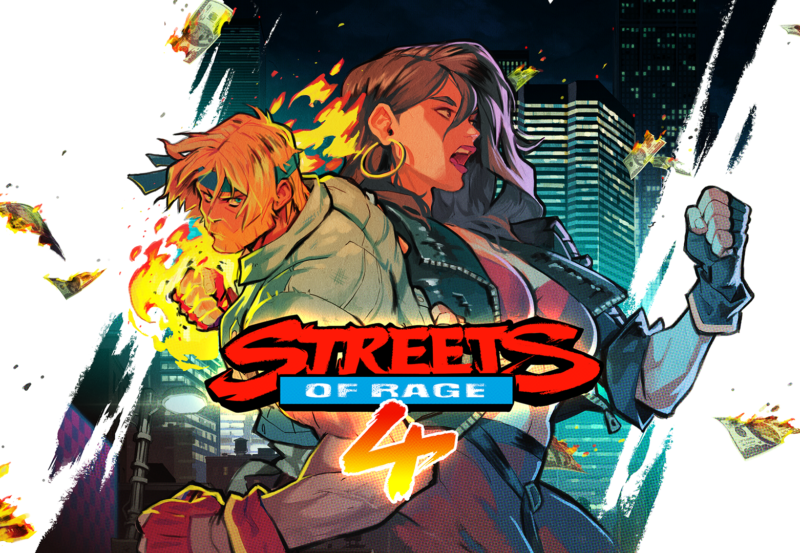 Promotional image for Streets of Rage 4