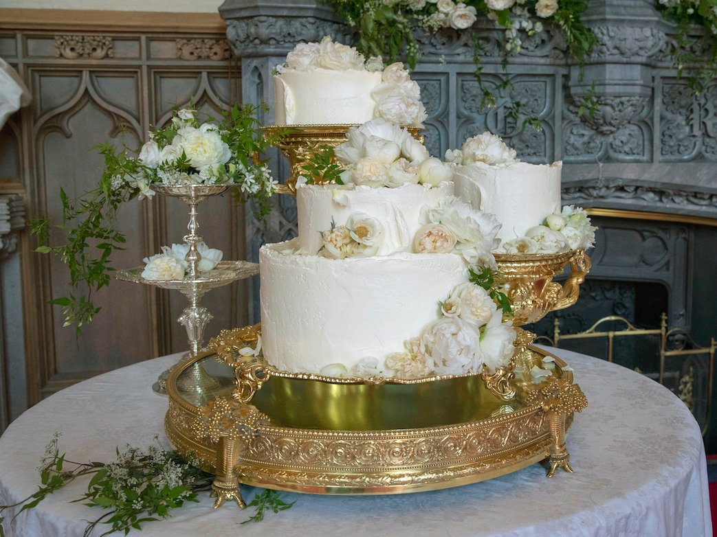 The wedding cake for Prince Harry and Meghan Markle