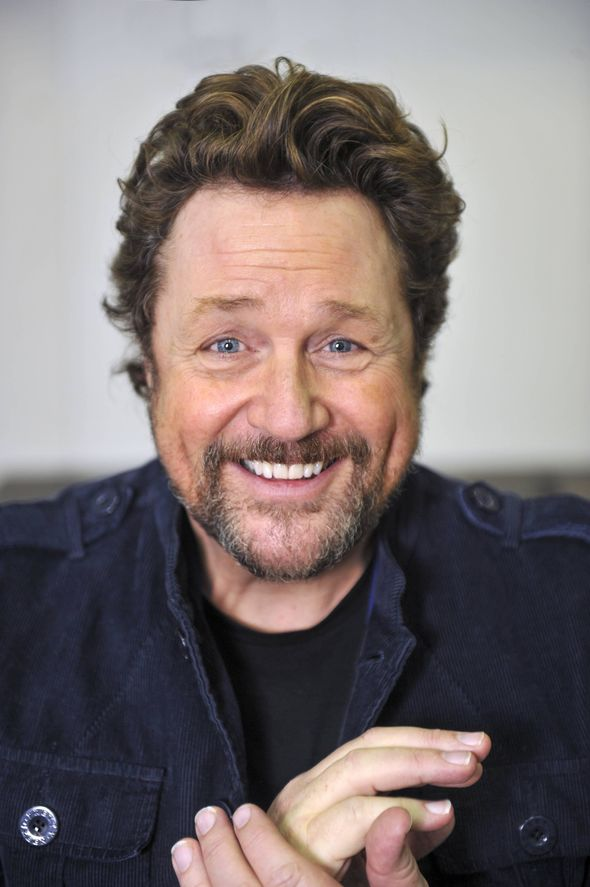 Michael Ball smiling