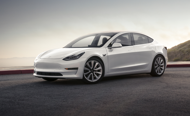Tesla Model 3 - Mountain Pearl