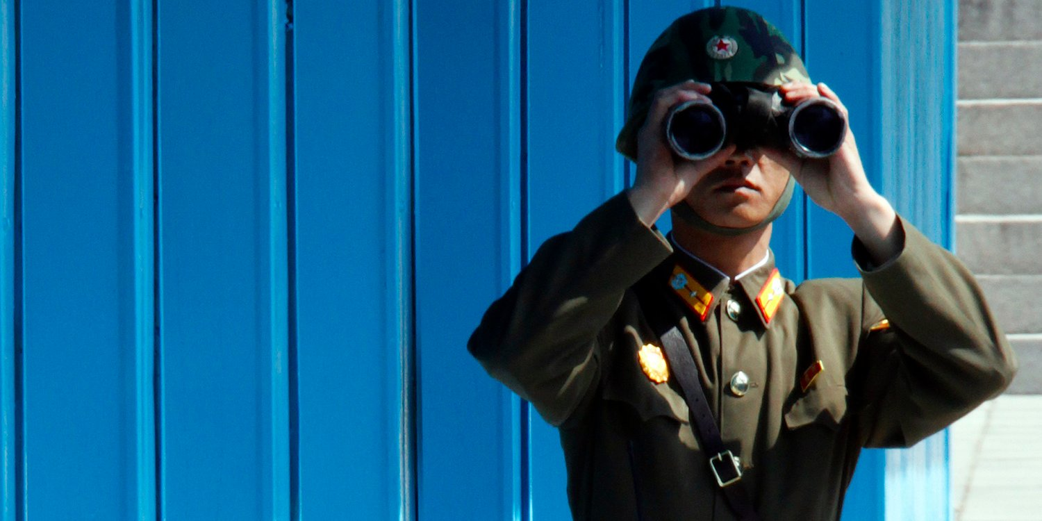 North Korea Soldier Panmunjom DMZ