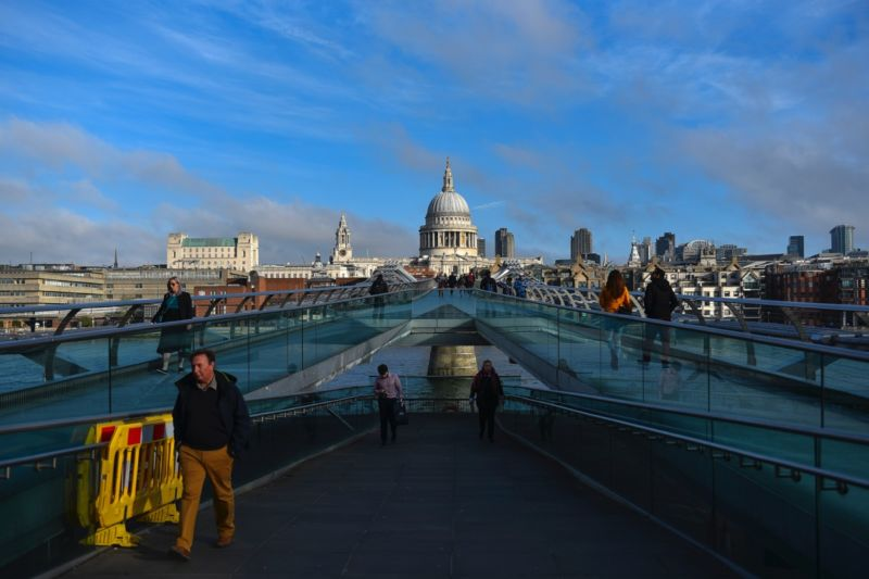 London's Millennium Bridge had issues with excessive shaking and swaying when it first opened in June 2000.