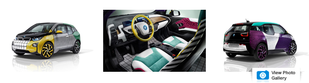 The Bmw I8 Got The 80s Tastic Paint Job It Always Deserved Brief News