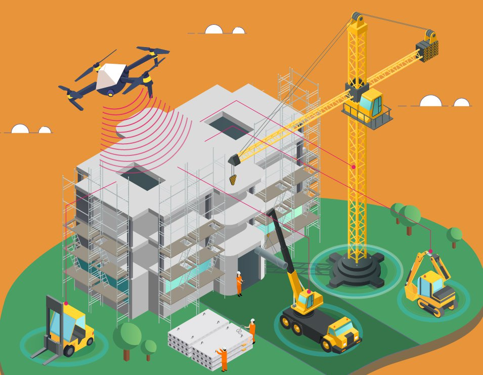Drones-in-Construction-Automation