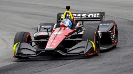 Canadian Robert Wickens involved in terrifying crash at Pocono Raceway