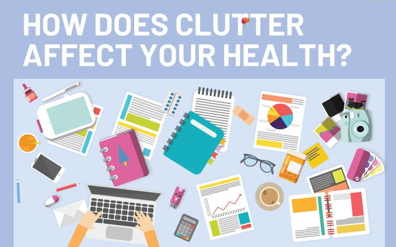 how does clutter affect your health