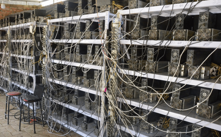 Miners take bitcoin mining to the next level.