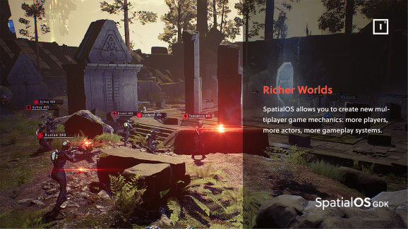 Unreal and SpatialOS already work together seamlessly.