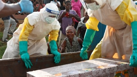 Ebola burial in Congo