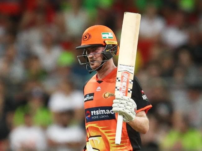Despite the slow pitch, Turner smashed 60 off 36 to almost steal the result.