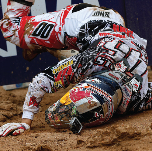 Red Bull Rider Crash
