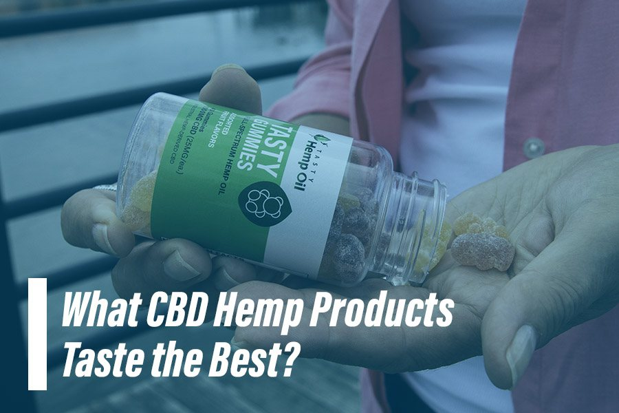 what does hemp cbd taste like